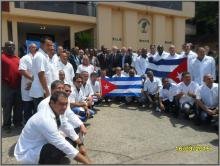 cuban doctors ready to leave liberia 2