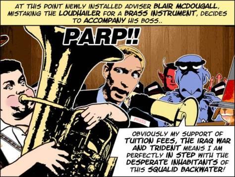 Cartoon of Scottish Labour leader Jim Murphy